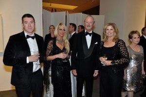 James Casbolt, Hailey Meijer, the Duke and  of Marlborough and Mrs Meijer