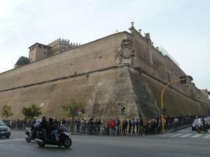 Vatican city walls