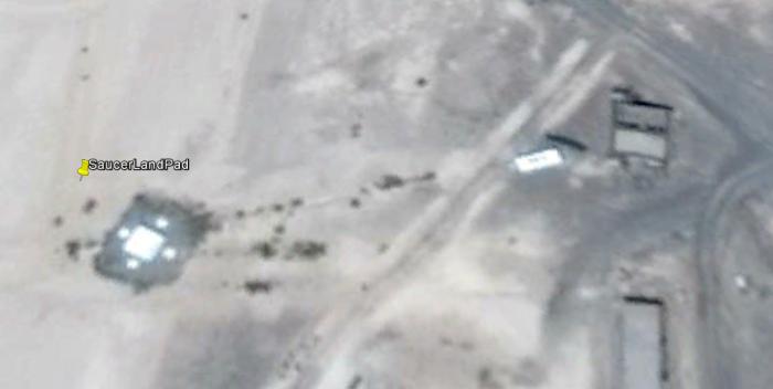 Flying Saucer Landing Pad