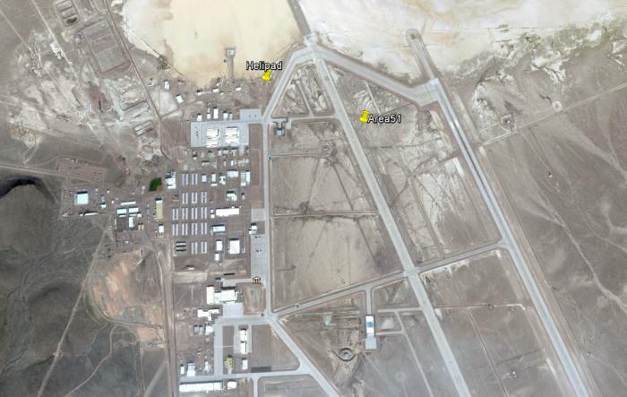Main Area 51 base