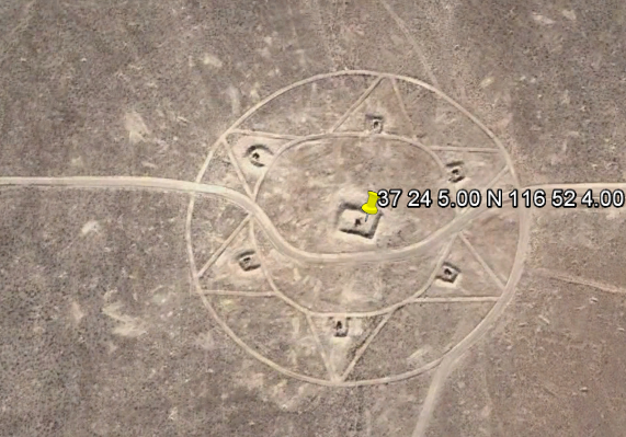 Strange site near Area 51